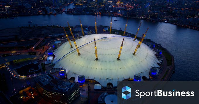 o2 arena betting shops in the uk